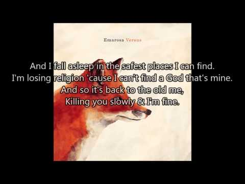 Emarosa - People Like Me, We Just Don't Play (Lyrics)