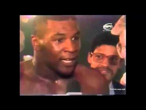 Бокс. Майк Тайсон - Стерлинг Бенджамин (ком. Беленький, Высоцкий) Mike Tyson - Sterling Benjamin