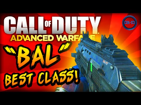 Advanced Warfare BEST CLASS SETUP -