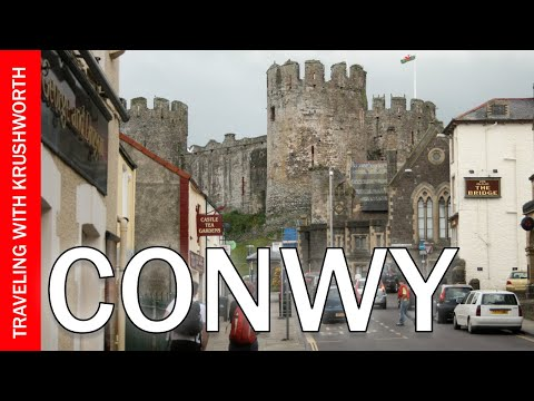 Travel to Wales - Conwy Castle and Caernarfon Castle - Wales Tourism - Conwy Castle Travel Guide