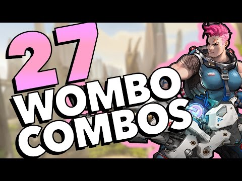 27 CRAZY WOMBO COMBOS - Overwatch Highlight Montage