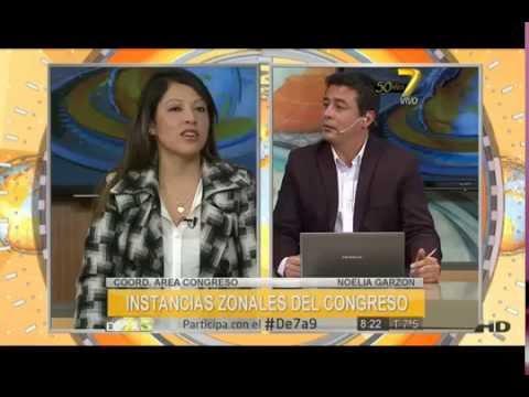 Entrevista a Noelia Garzon (Coord. Area Congreso)