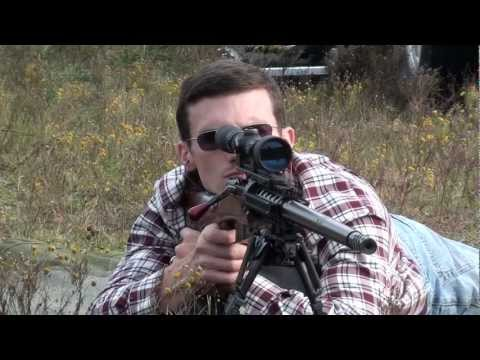 Custom Mosin Sniper Rifle in 7.62x54r UK-59 Machine Gun Barrel