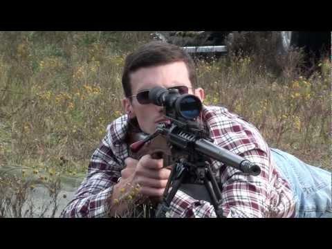 Custom Mosin Sniper Rifle in 7.62x54r UK-59 Machine Gun Barrel