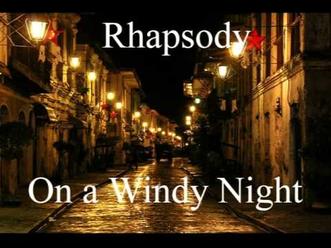 rhapsody on a windy night And devours a morsel of rancid butter so the hand of the child, automatic, slipped out and pocketed a toy that was running along the quay i could see nothing behind that child¹s eye.