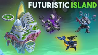 Isla Futurista (Futuristic Island) | Monster Legends