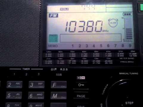 103.8 Radio Renascença, Faro-Portugal en Baeza