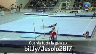 bit.ly/Jesolo2017 - Gabby Perea (Parallele Asimmetriche) - Finali di Specialità