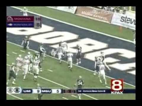 University of Montana vs Montana State University Highlights 2009 Video