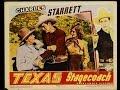 CHARLES STARRETT    ****   TEXAS STAGECOACH   ( before Durango Kid )