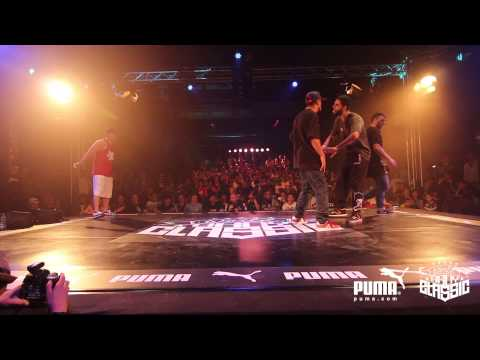 World BBoy Classic 2013 1/8 Final - Moy & Luan vs Tawfiq & Koko