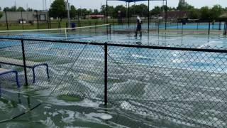 Tennis Court Cleaning in Southeast MO