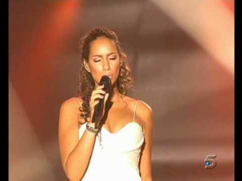 Leona Lewis - Bleeding love (Live) Gala nº 9 - OT 2008