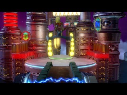 Crash N.Sane Trilogy Warped Glitch - Warp Room 5 Early