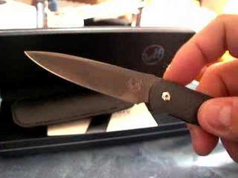 Coltello Wiliam Henry Legacy folder Carbon fiber knife