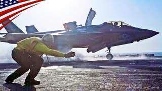 F-35B First Combat Strike Launch (Equipped with Gun Pod) - Sept. 27, 2018