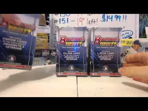 Personal Box Breaks - 1-20-16 - 2013 Topps Tribute World Baseball Classic Edition & Bowman's Best 20