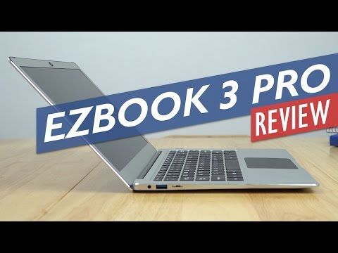 Jumper EZBook 3 Pro Review - One Of The Best Apollo Lake Laptops