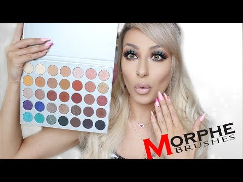 JACLYN HILL X MORPHE PALETTE!!   FIRST IMPRESSIONS. REVIEW. SWATCHES & TUTORIAL!
