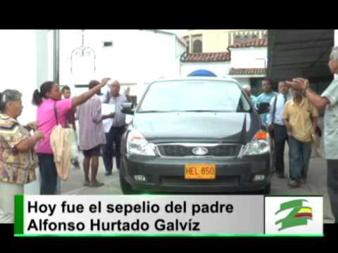 Poca asistencia en el sepelio del Padre Alfonso Hurtado Galviz