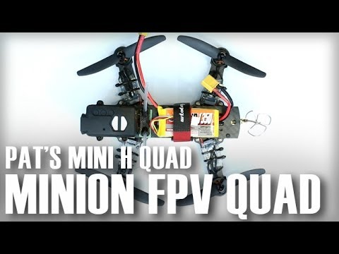 Minion 220 FPV Mini H Quadcopter - Review