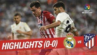 Resumen de Real Madrid vs Atlético de Madrid 0-0