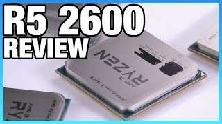 AMD R5 2600 & 2600X Review | Stream Benchmarks, Gaming, Blender