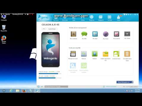 how to root u r phone using mobogenie simple method