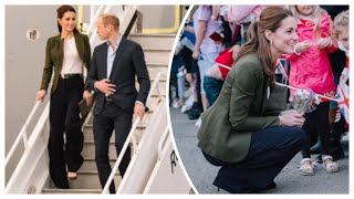William & Catherine Visit Cyprus Airbase To Give Out Christmas Presents 2018!