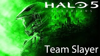 Halo 5: Guardians Team Slayer on Plaza Multiplayer Gameplay