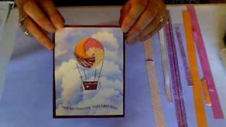 Iris Folding-Hot Air Balloon Card
