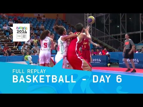 Basketball - Men's & Women's Preliminaries | Full Replay | Nanjing 2014 Youth Olympic Games