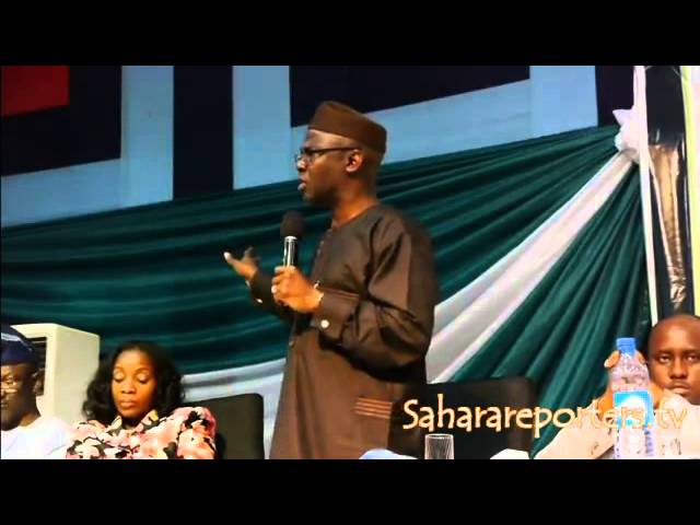 """All General Overseers Must Go To Prison\""-Pastor Bakare"