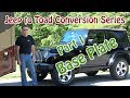 Jeep To Rv Toad  Dingy  Conversion - Currie Enterprises Base Plate In 4k
