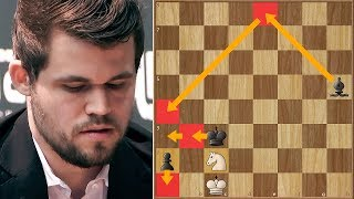 Squeezing Water from Stone   Magnus Carlsen Shows Why He's The Best   WRC   Round 12