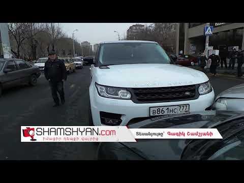 Ավտովթար Երևանում. բախվել են Opel-ը, Nissan-ն ու ճանաչված երգիչ Սպիտակցի Հայկոյի Range Rover-ը