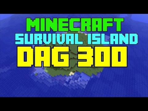 Minecraft Survival island - Dag 300 ''Het DMG texture pack!''