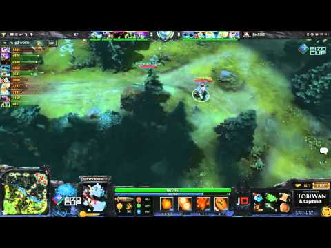 Team Empire vs Kaipi Game 1   EIZO Cup DOTA 2   TobiWan