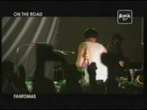 FANTOMAS in BERGAMO 06/28/05 part 4 - ROCK TV