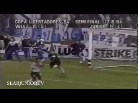 Vélez Sarsfield 2 - Junior de Barranquilla 1 (Semifinal Copa Libertadores 1994)