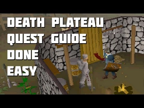 Runescape 2007 - Death Plateau Quest Guide - Quest Guides Done Easy - Framed