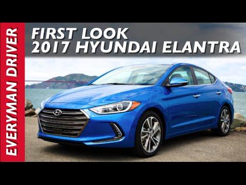 First Look: All-New 2017 Hyundai Elantra on Everyman Driver