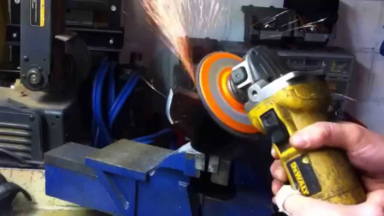 How To Sharpen Lawn Mower Blades With An Angle Grinder