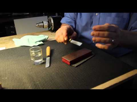 Double Reed Tips: Sharpen a Double Hollow Ground Reed Knife