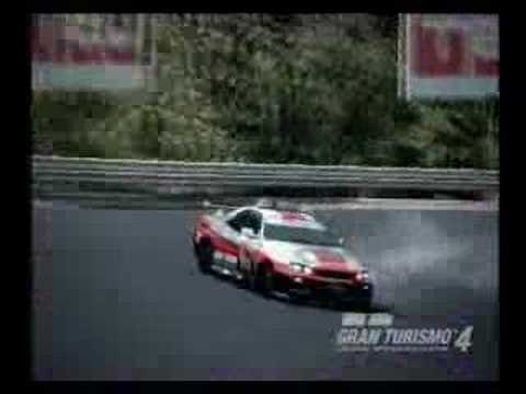 Gran Turismo 4 SKYLINE GT-R PC drift movie