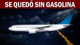¿Qué pasa si un avión se queda sin combustible en pleno vuelo?