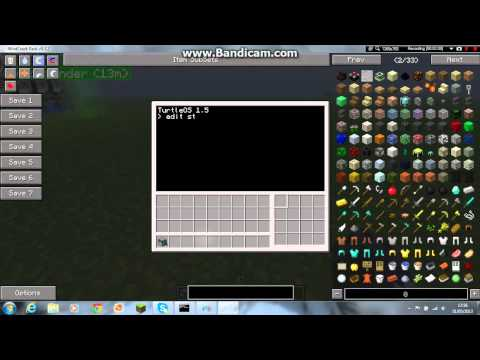 minecraft ftb modpack how to programme melee turtles