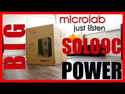 Microlab Solo 9C 140W RMS 2.0 Speaker Review