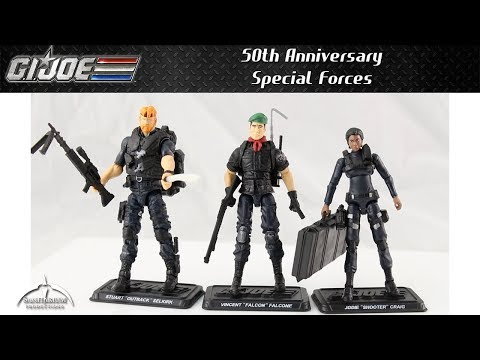 GI Joe 50th Anniversary Special Forces Unboxing and Review