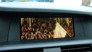 "BMW X3 F25 (2011) DVD on iDrive and Hi-Fi Soundsystem - Armin van Buuren pres. Gaia ""Tuvan"""